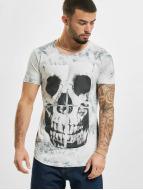 Red Bridge T-shirts Skull grå