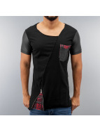 Red Bridge T-Shirty Pocket czarny