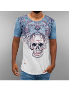 Red Bridge Tričká Skull indigo