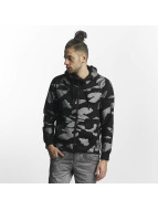 Red Bridge Zip Hoodie Camo черный