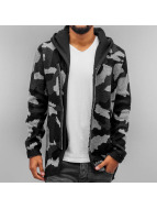 Red Bridge Zip Hoodie Wien camouflage