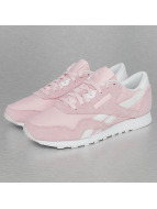 Reebok Сникеры CL Nylon SP розовый