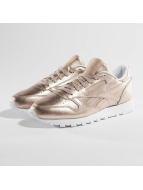 Reebok Сникеры Classic Leather Melted Metallic Pearl розовый