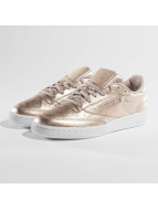 Reebok Сникеры Club C 85 Melted Metallic Pearl розовый