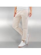Reebok Спортивные брюки Fleece белый