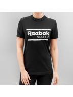 Reebok Футболка Iconic черный