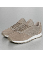 Reebok Baskets CL Leather Ksp gris