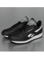 Reebok Baskets Classic Leather Pop noir