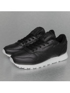 Reebok Baskets Classic Leather Pearlized noir