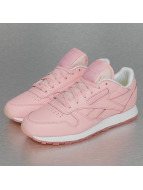 Reebok Baskets CL Leather Face rose