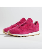 Reebok Baskets Classic Leather rouge