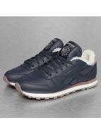 Reebok Sneaker CL Leather Sherpa blau