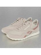 Reebok Sneaker CL Nylon Slim Metall grau