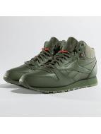 Reebok Sneaker Classic Leather TWD Mid grün