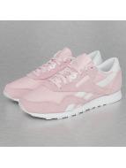 Reebok sneaker CL Nylon SP rose