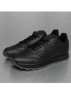 Reebok sneaker CL Leather Solids zwart