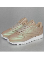 Reebok Sneakers Classic Leather Pearlized gold colored