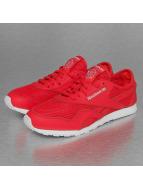 Reebok Sneakers CL Nylon Slim Mesh röd