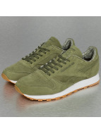 Reebok Tøysko Classic Leather grøn