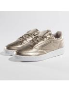 Reebok Club C 85 Melted Metallic Pearl Sneakers Metalic Grey Golden/White