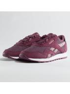 Reebok Classic Nylon Sneakers Plum/Orchid/White