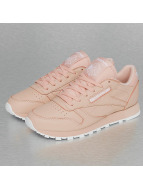 Reebok Tøysko Classic Leather rosa