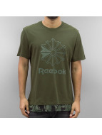 Reebok T-Shirt Layered grün