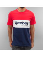 Reebok T-Shirt Archive Stripe rot