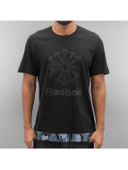 Reebok T-Shirt Layered schwarz