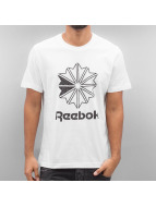 Reebok T-Shirts Large Starcrest beyaz