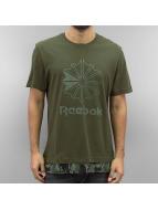 Reebok T-Shirts Layered yeşil