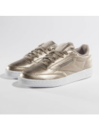 Reebok Club C 85 Melted Metallic Pearl Sneakers Metalic Grey Golden/White