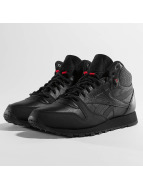 Reebok Classic Leather TWD Mid Sneakers Black/Ex Red/Black