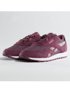 Reebok Classic Nylon Sneakers Plum/Orchid/White
