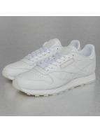 Reebok Tennarit CL Leather Solids valkoinen