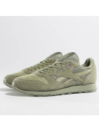 Reebok Zapatillas de deporte Leather SM caqui