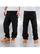 Reell Jeans Cargobroek Ripstop zwart