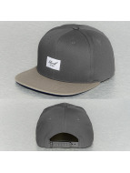 Reell Jeans Casquette Snapback & Strapback Pitchout gris