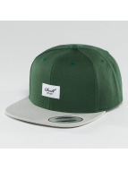 Reell Jeans Casquette Snapback & Strapback Pitchout 6 Panel vert