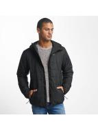 Reell Jeans Lightweight Jacket Hooded Stitch black