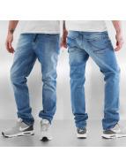 Reell Jeans Skinny Jeans Spider niebieski