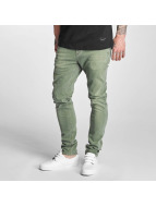 Reell Jeans Slim Fit Jeans Spider оливковый