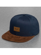 Reell Jeans Snapback Suede bleu