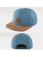 Reell Jeans snapback cap Suede blauw