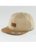 Reell Jeans Snapback Cap Suede 6 Panel braun