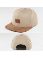 Reell Jeans snapback cap Suede khaki