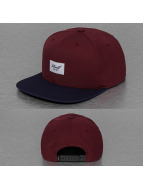 Reell Jeans Snapback Cap Pitchout 6-Panel rot