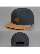 Reell Jeans Snapback Caps Suede grå