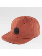 Reell Jeans Flat 6 Panel Cap Burned Red