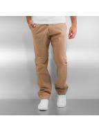 Reell Jeans Spodnie wizytowe Straight Flex bezowy